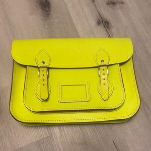 Cambridge Satchel Company saddle bag yellow
